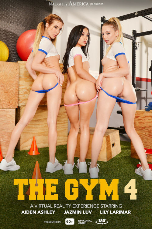 Experience The Gym 4 starring Aiden Ashley and Jazmin Luv in VR at Naughty America