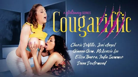 Watch Cougariffic starring Cherie DeVille and Jeni Angel on the Girlsway Roku Channel