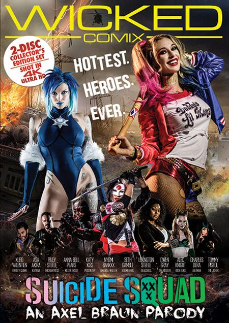 Stream Suicide Squad XXX porn parody streaming video on the Wicked Roku Channel